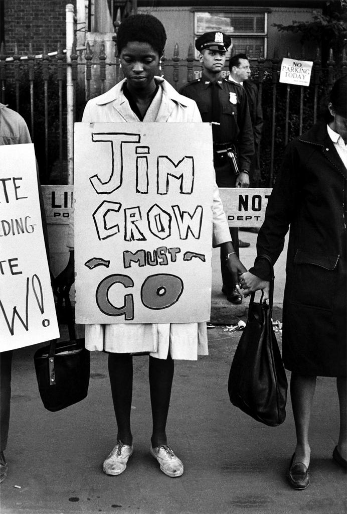 Jim crow law end