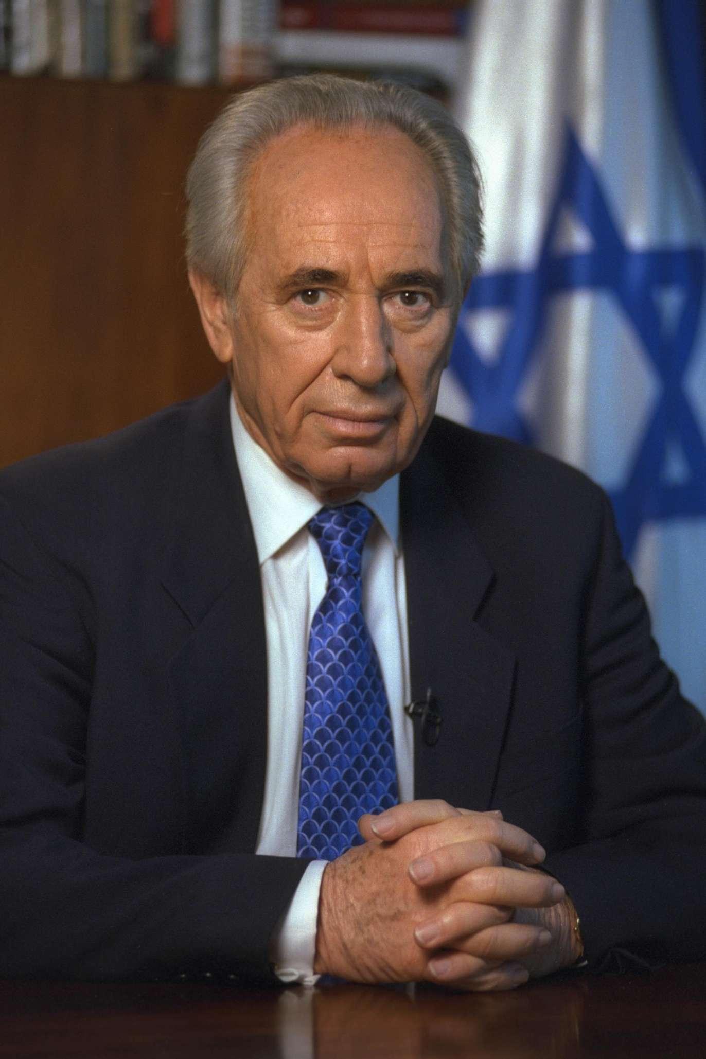 Risultati immagini per Shimon Peres